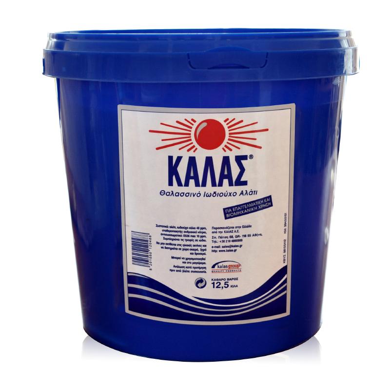 Αλάτι ΚΑΛΑΣ κουβάς 12,5kg