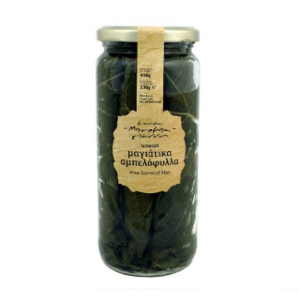 Αμπελόφυλλα Μπάρμπα - Γιάννης βάζο 450gr