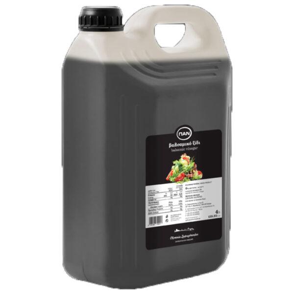 Βαλσάµικο ξίδι ΠΑΝ – πλαστικό δοχείο 4lt