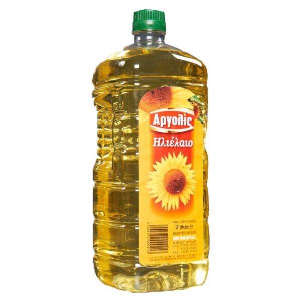 Ηλιέλαιο Αργολις φιάλη ΠΕΤ 2lt