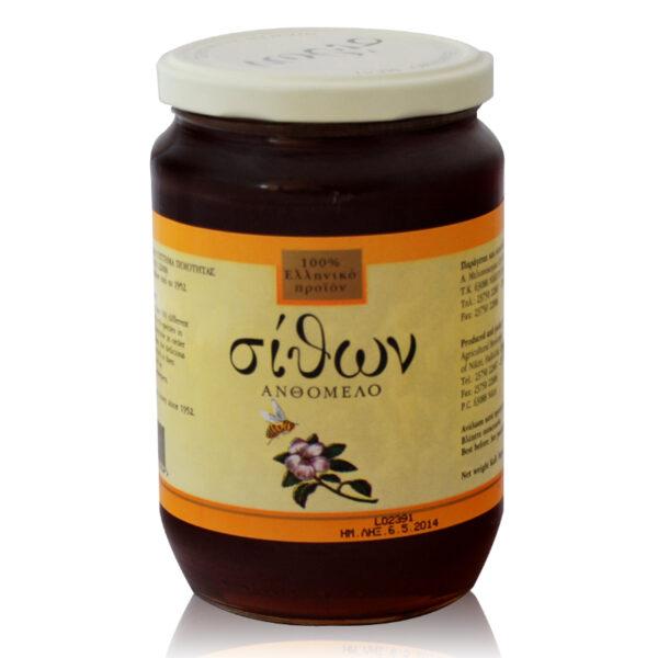 Μέλι Ανθέων βάζο 950gr (σίθων)