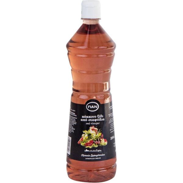 Ξίδι Κόκκινο από Σταφύλια ΠΑΝ - φιάλη PET 390ml