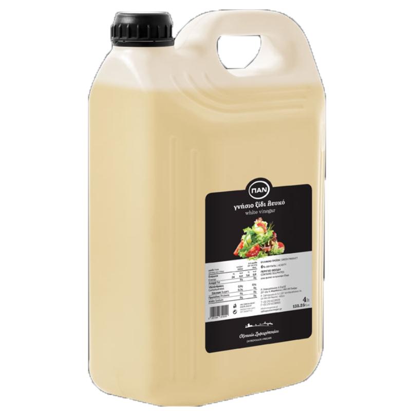 Ξίδι Λευκό ΠΑΝ – πλαστικό δοχείο 4lt