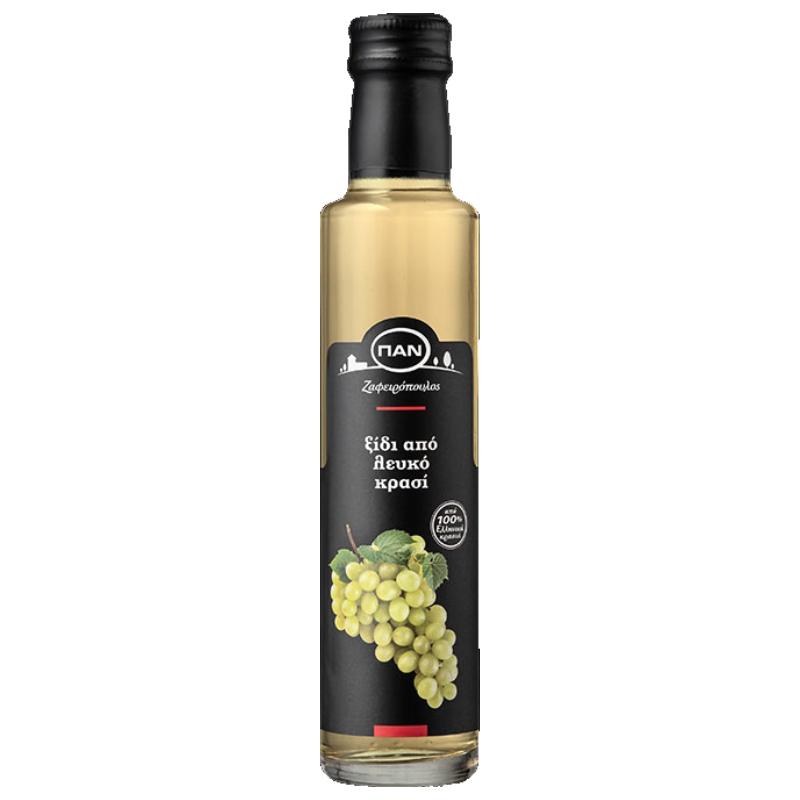 Ξίδι από Λευκό Κρασί ΠΑΝ - γυάλινη φιάλη 250ml